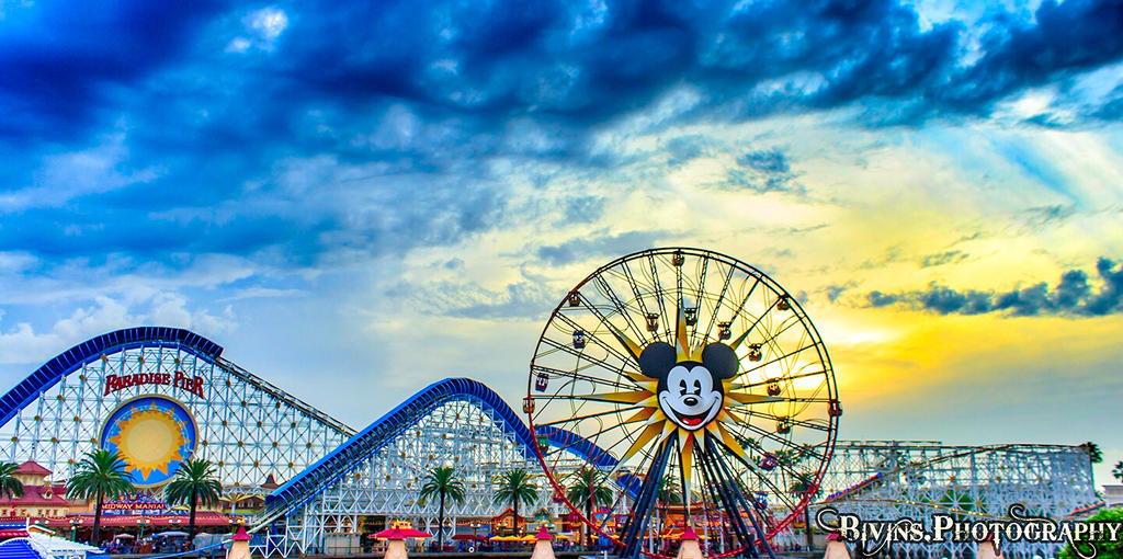 California Adventure Sunset by dopey5150