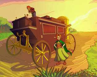 Aelfie Wagon Color 2 by ComicBoySupreme