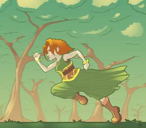 Aelfie Run by ComicBoySupreme