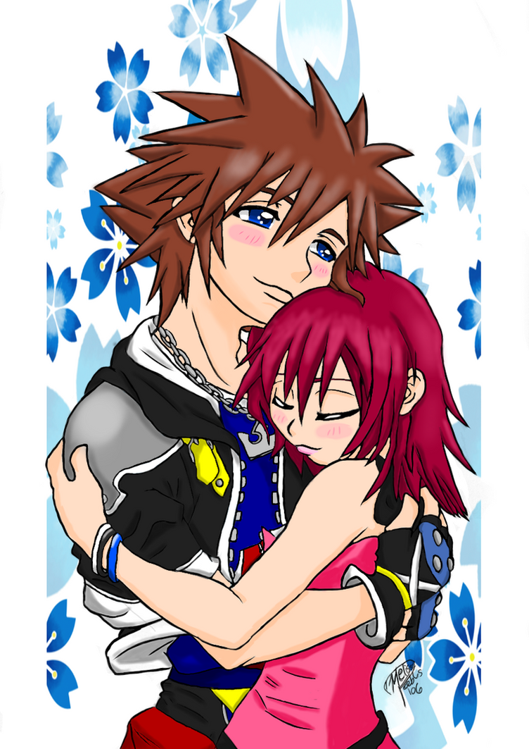 My Sanctuary ~Sora x Kairi~ by YessieMaltese