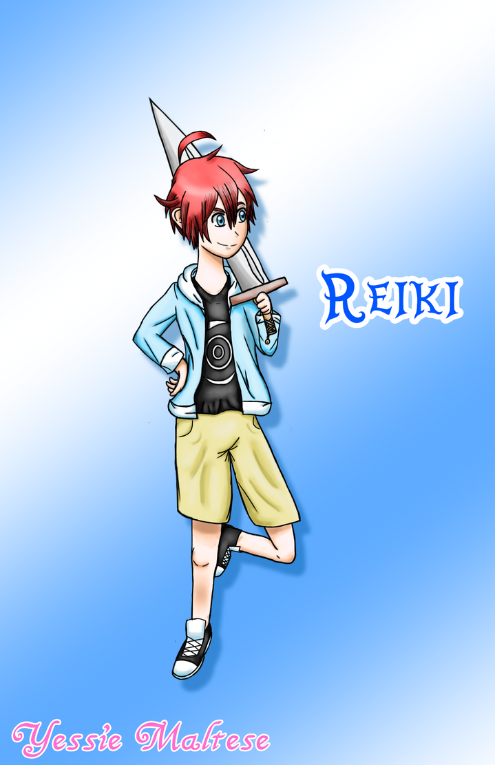 Drawing Commission: Reiki by YessieMaltese