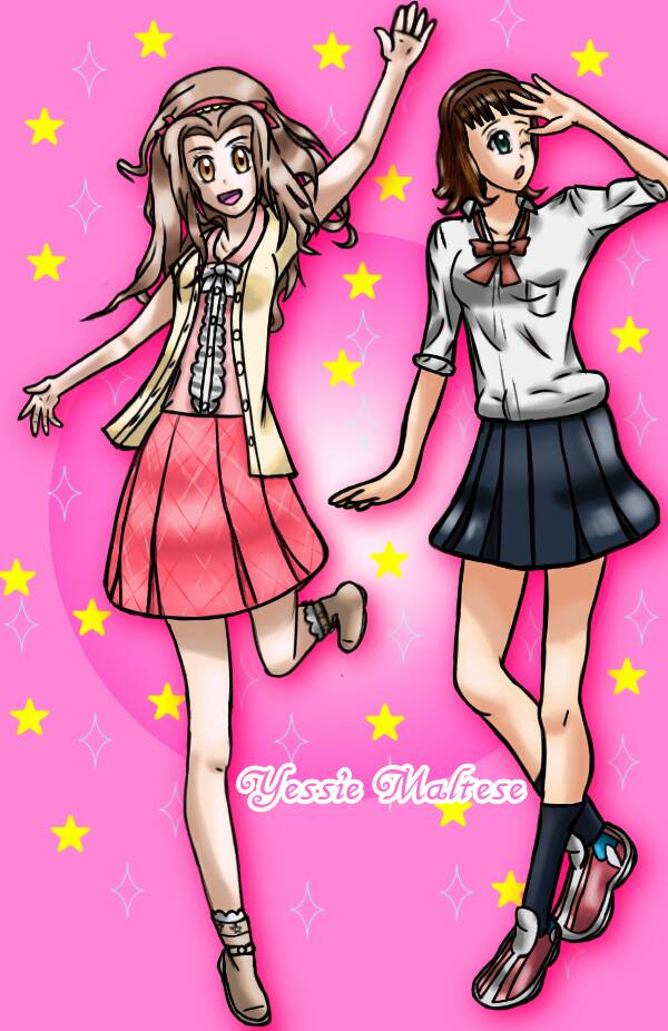Drawing Commission: .:Fashion Princesses:. by YessieMaltese