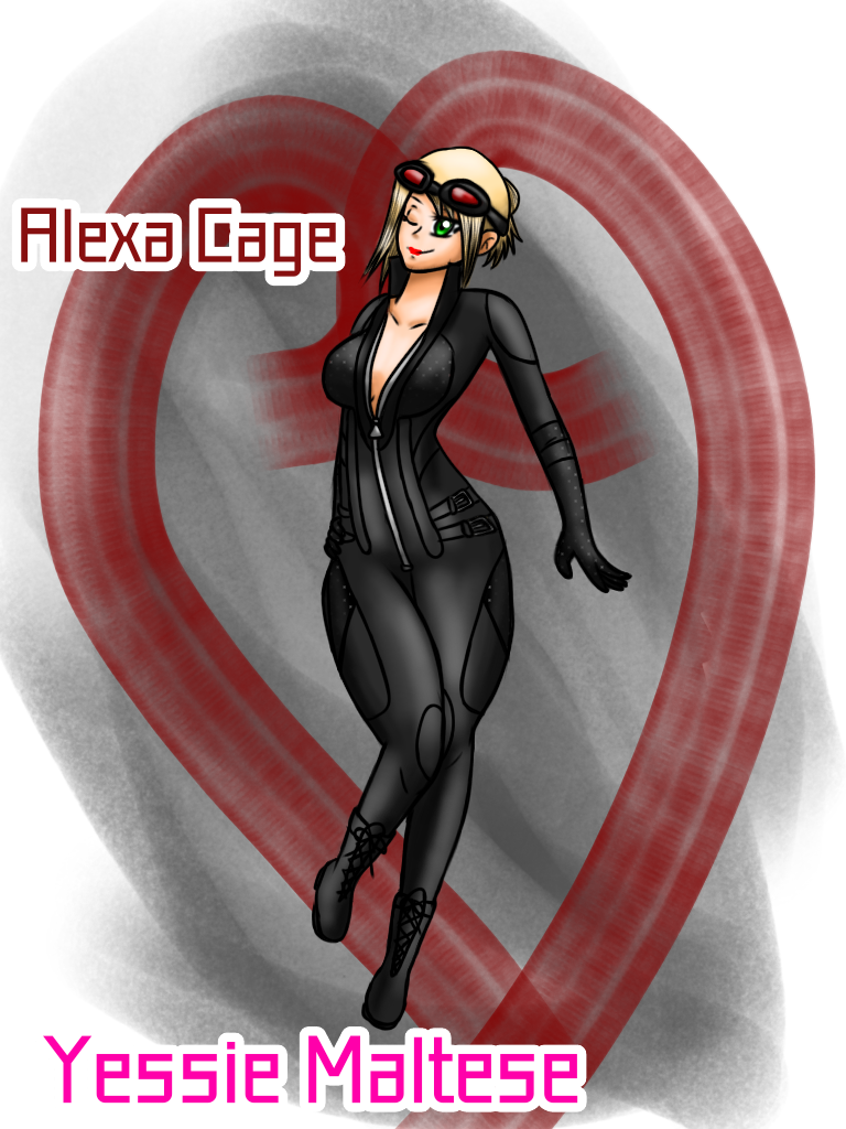 Alexa Cage (Request) by YessieMaltese