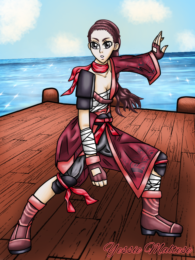 Setsuko (Commission) by YessieMaltese