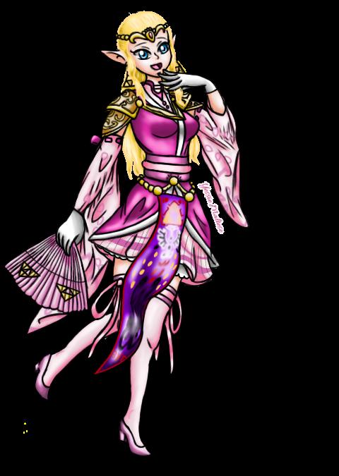 J-Pop Idol Princess Zelda (N-Pop Collab Entry #3) by YessieMaltese