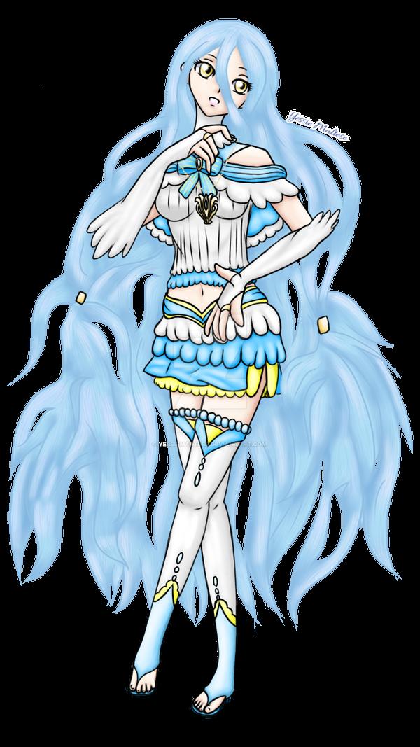 J-Pop Idol Azura (N-Pop Collab Entry #4) by YessieMaltese