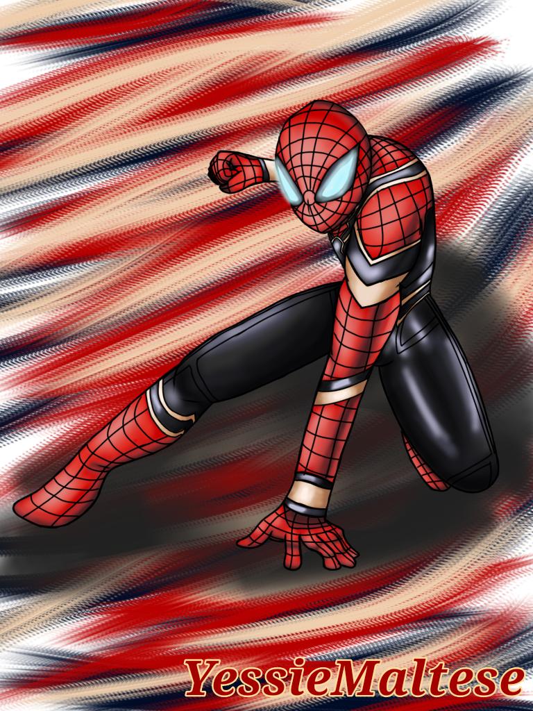 Iron Spider Man (Request) by YessieMaltese