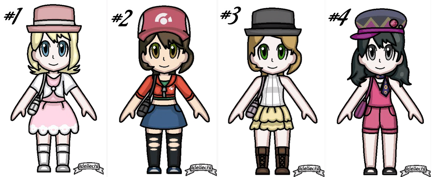 Pokemon F.Trainers Adoptables (OTA) (0/4) (closed) by YessieMaltese