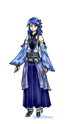 Aqua KH 3.6 Concept Art (Request) by YessieMaltese