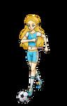 Nintendolympics Collab #5 BotW Zelda by YessieMaltese