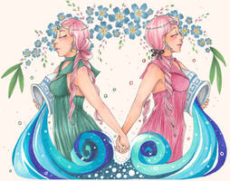 Lethe and Mnemosyne
