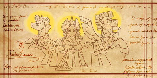 The Tribe Leaders by DuneFilly