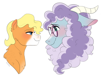 Character Bust Commission: SciTwiFizzlePop by DuneFilly