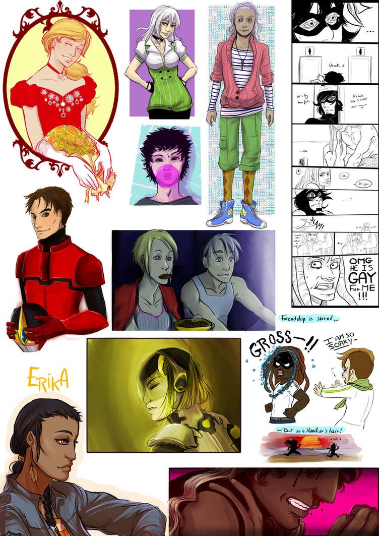 Hero TV-rp - Doodles 7 by Niladhevan