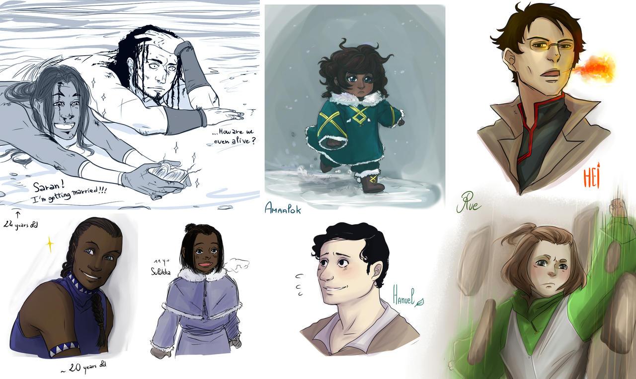 RC - Doodles 4 by Niladhevan