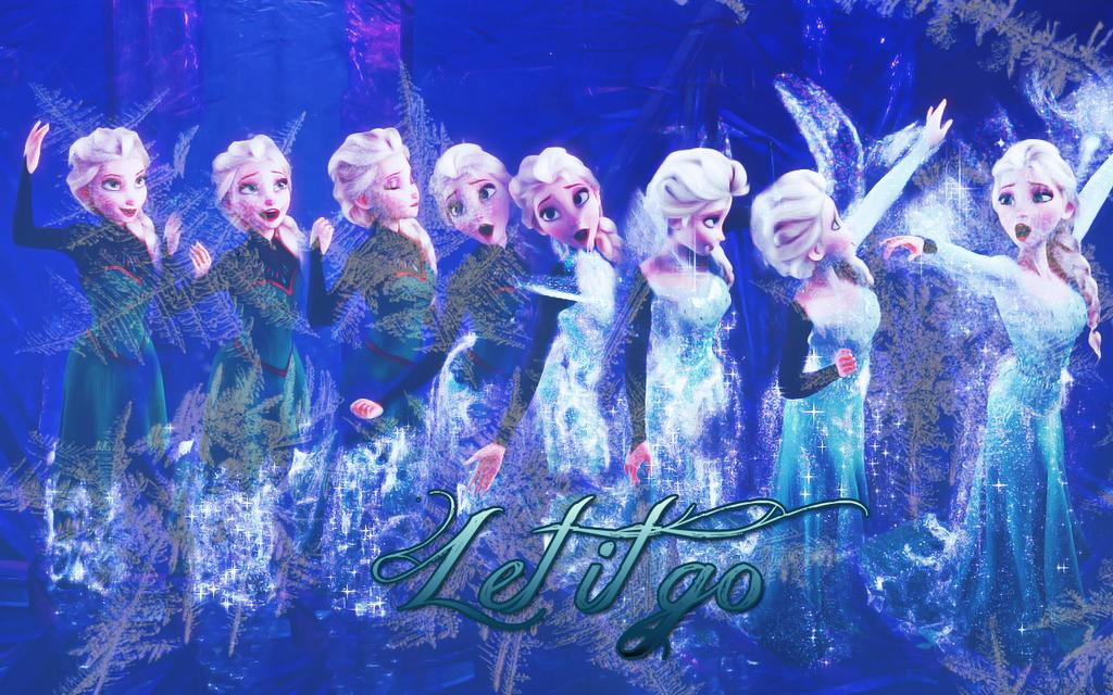 Let It Go Elsa Wallpaper By Timexturner