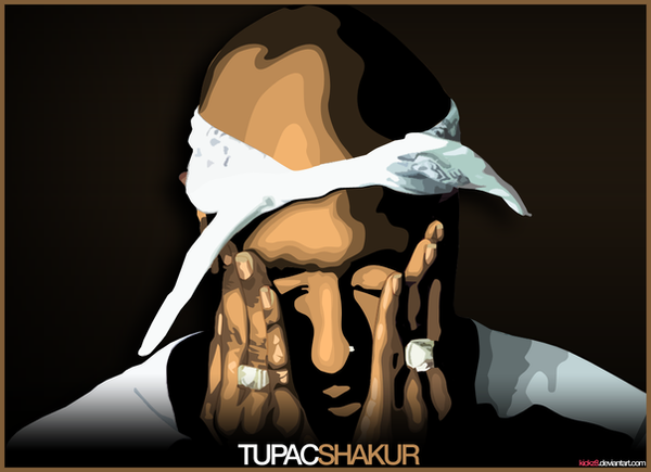 tupac by kickz8