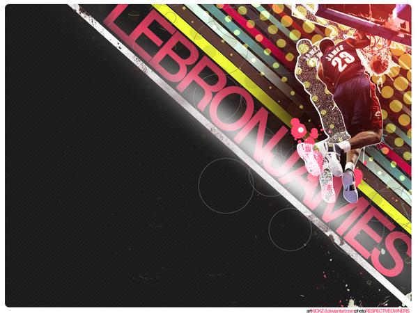 funky lebron by kickz8