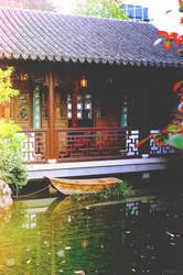 Lan Su Chinese Garden by drag-my-soul