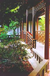 Lan Su Chinese Garden II by drag-my-soul