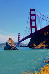 Golden Gate Bridge by drag-my-soul