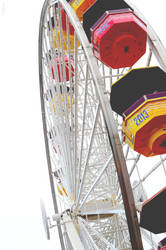 Pacific Park Ferris Wheel - Santa Monica Pier by drag-my-soul