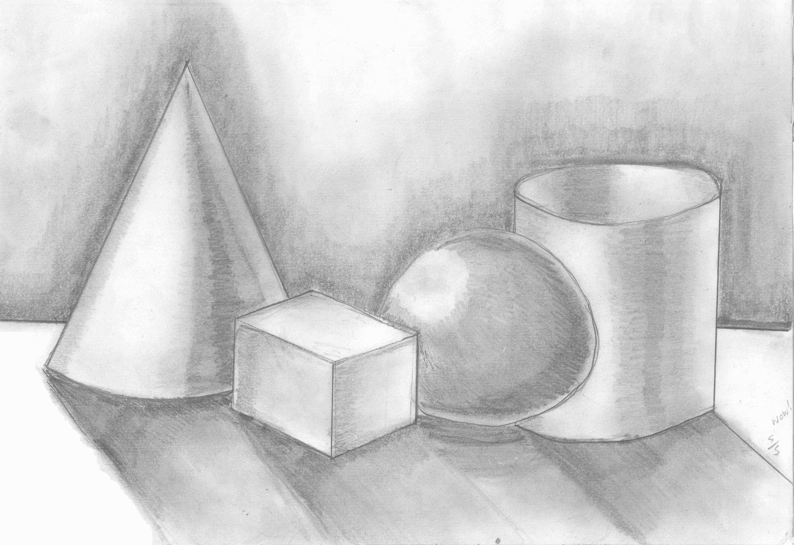 3d shape drawing