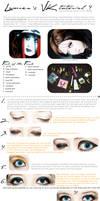 VISUAL KEI make-up TUTORIAL 4