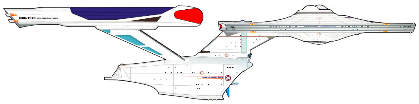 Constitution Class Variant 2 by SR71ABCD