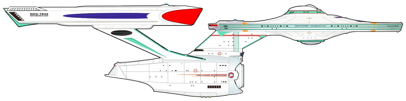 Constitution Class Variant 3 by SR71ABCD