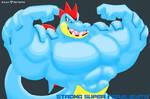Strong Super Feraligatr