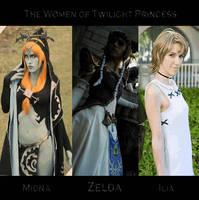 The Women of Twilight Princess by ThePrincessZelda