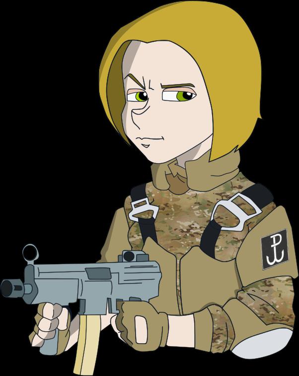 Commando Girl - Polish GROM Edition by MateusBrasil