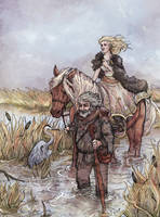 Crossing the Marshes by Dreoilin