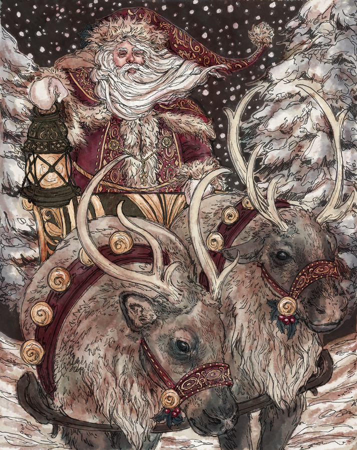 Santa Claus by Dreoilin
