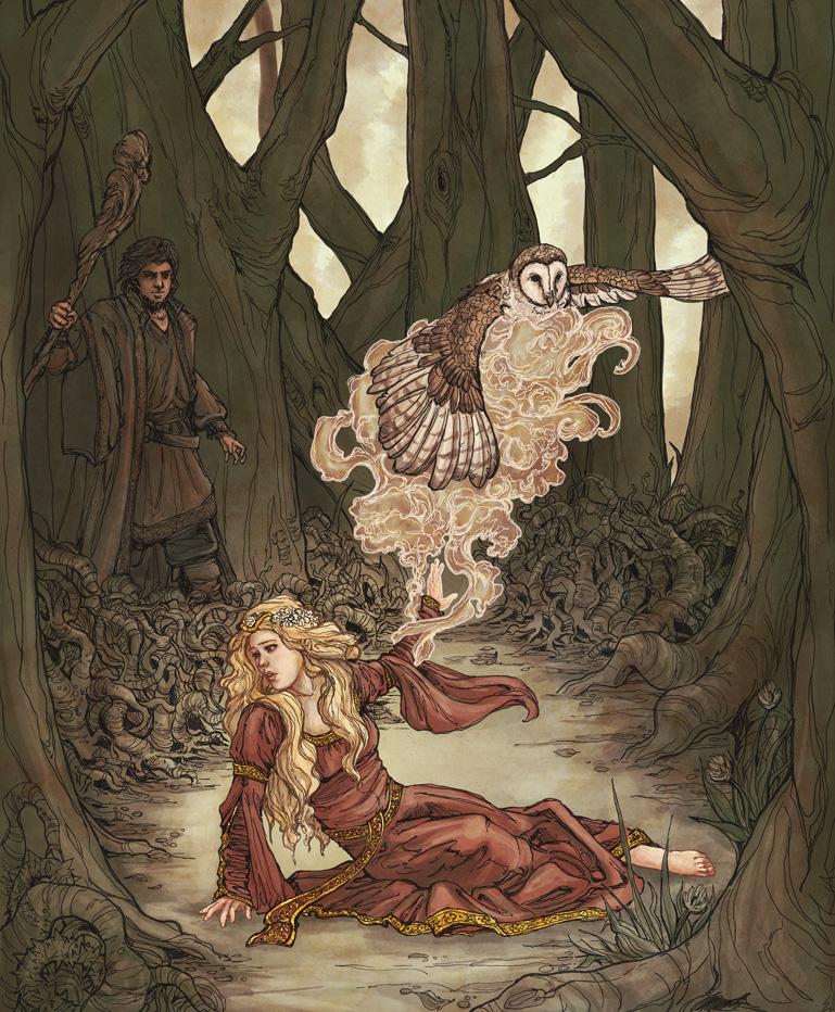 Blodeuwedd by Dreoilin