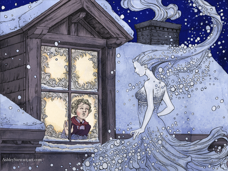 Snow Queen by Dreoilin