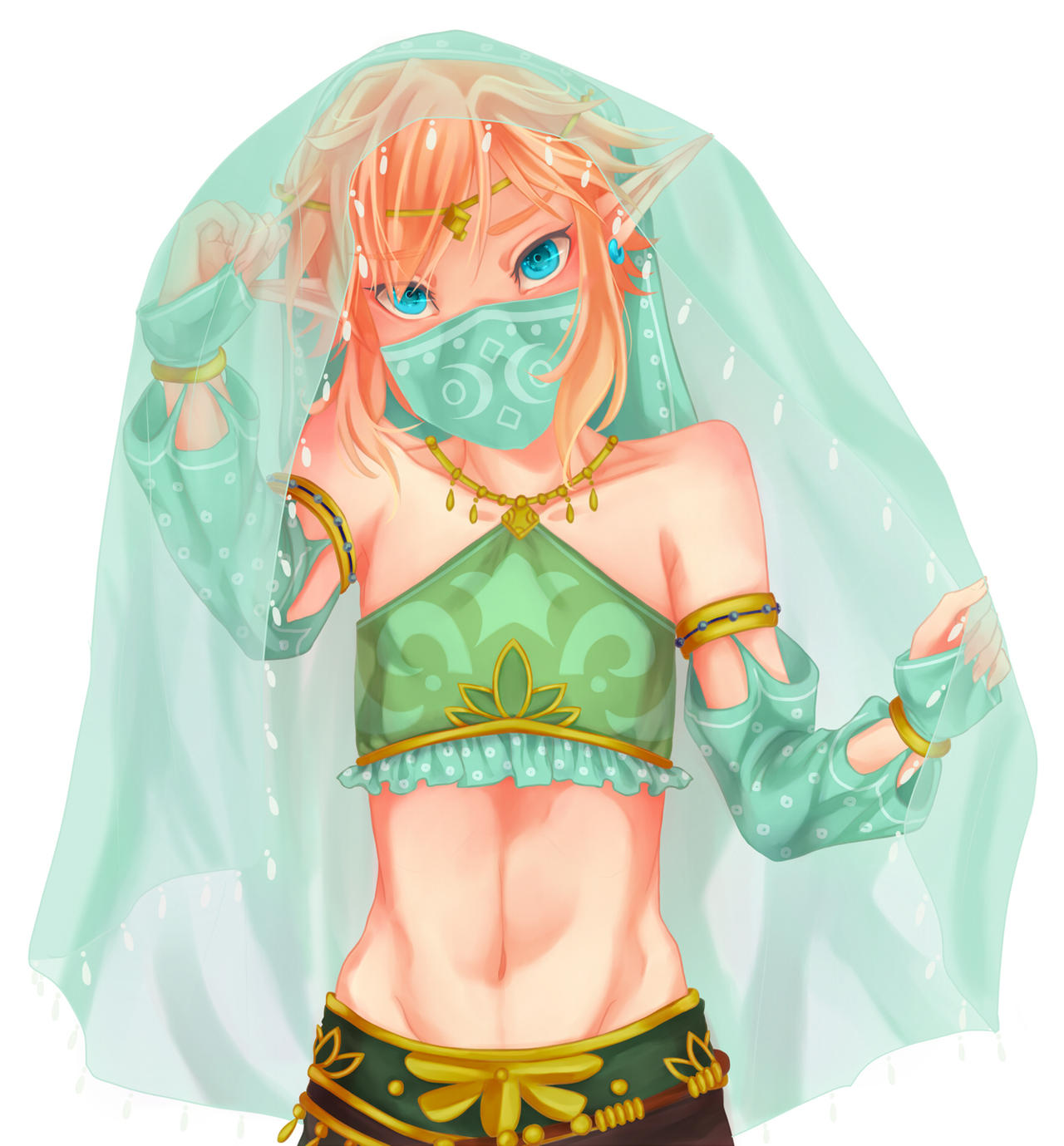 Gerudo Link by kaizerkon on DeviantArt