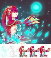 Mipha's Grace by kaizerkon