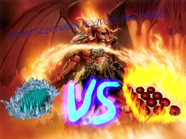 BATTLE BETWEEN HEAVEN AND HELL. tj by LoanSkunk on deviantART