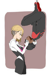 Gwen And Miles by akol3850