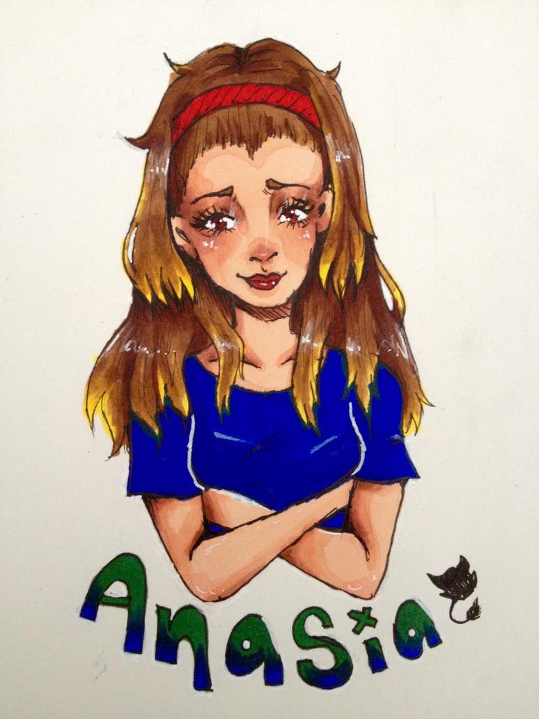 Rika fan art (/w)/ by Ayu-Chan11