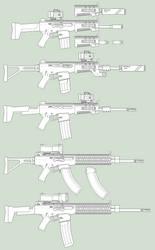 SA-AR-2 Mod 3 (SpV-8M3) 'Pitbull' final by parakitteh