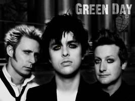 Green Day Eyes Desktop by AcanyaHelke