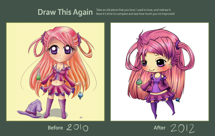 Draw This Again contest by x--lalla--x