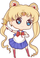Mini chibi example: Sailor Moon by x--lalla--x