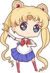 Mini chibi example: Sailor Moon
