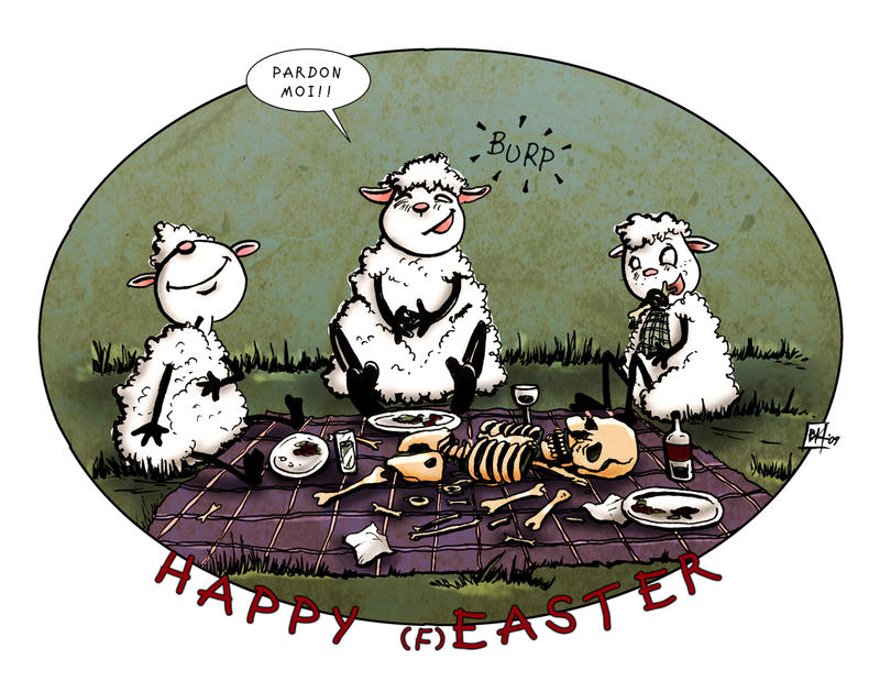 happy easter '09.. by neurotic-elf