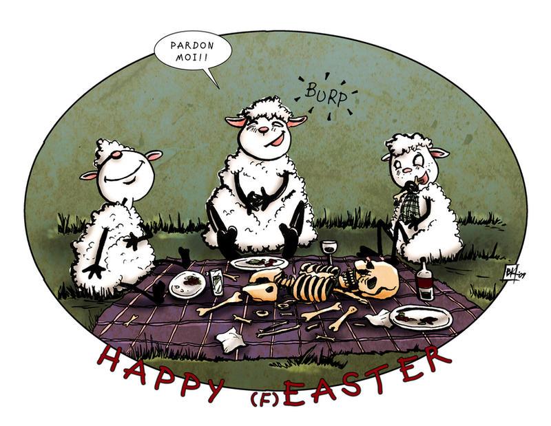 happy easter '09.. by neurotic-elf