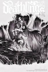 Ani - Deathlings pinup inks.. by neurotic-elf